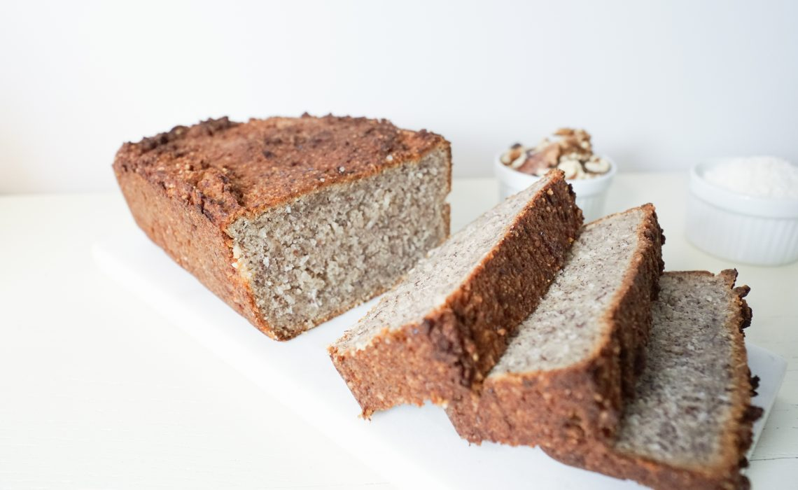 Stevia Vegan Banana Loaf